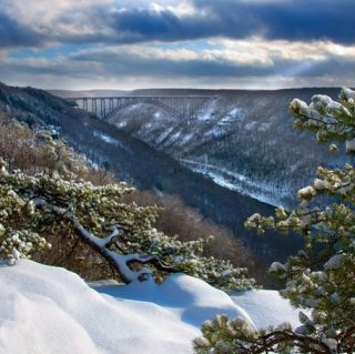 A National Park is born in West Virginia. #copandme#newrivergorge
