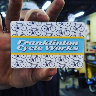A great gift idea for the cyclist on your list. These guys are always there when you need them. Thanks for being a part of the community! #copandme#columbusridesbikes #franklintoncycleworks #tosrv #greatohiobicycleadventure
