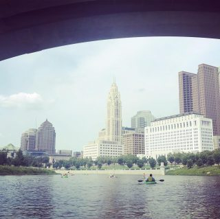 Join us for a kayak trip on the #sciotomile this summer! Don't let summer pass you by. Schedule through our partner @olentangypaddle at www.Olentangy paddle.com