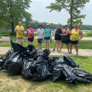 Thanks to the volunteers who pulled over 200lbs of litter & plastic from the Scioto River on Saturday.  Outdoor Pursuits is making stewardship of our outdoor treasures a priority. Our next river cleanup is August 28. Thanks to Ohio EPA for supporting our efforts! #sciotoriver #copandme #ohioepa #plasticfreejuly #dobeautifulthings #greencolumbus #keepohiobeautiful