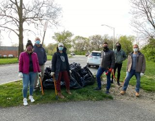 Keeping litter and plastics out of central Ohio's life-giving waterways is a priority for Outdoor Pursuits. Thanks to the 6 volunteers from Kaufman Development who helped with our stewardship effort. 2 hours. 23 bags of litter that won't make it into the Scioto River. #givebesa #dobeautifulthings #copandme #earthday2021 #bethegood