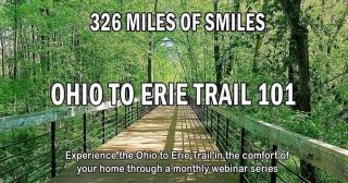 An epic bike ride or trail hike awaits you. Learn everything you need to know to explore the Ohio to Erie Trail this season!  Join us Thursday, 1/27 at 7pm for this free webinar. Registration is required: https://app.Donorview.com/PqYQj #copandme#ohiotoerietrail#greatohiobicycleadventure#tosrv