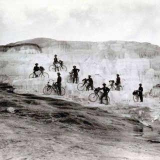 Buffalo Soldiers 1896. In the nation's first test of bicycles for troop mobility, the segregated Black unit trekked 800 miles. #blackhistorymonth #copandme